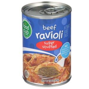 Beef Ravioli, Super Stuffed