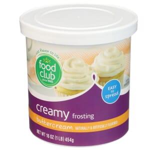 Buttercream Creamy Frosting