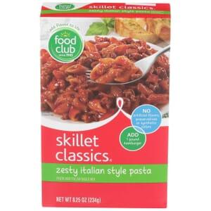 Skillet Classics, Zesty Italian Style Pasta