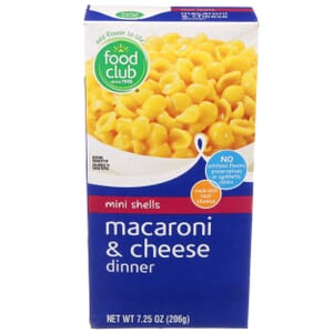 Mini Shells Macaroni & Cheese Dinner