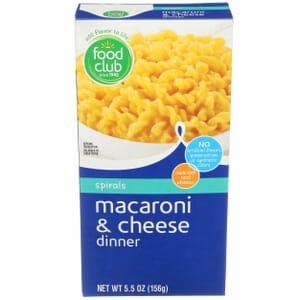 Spirals Macaroni & Cheese Dinner