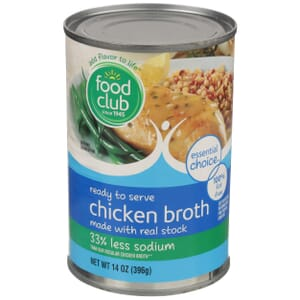 Chicken Broth - 33% Less Sodium