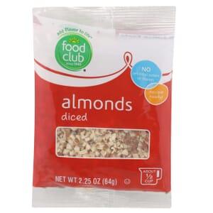 Almonds, Diced