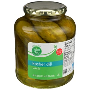 Kosher Dill Whole Pickles