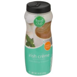 Irish Creme Non-Dairy Creamer