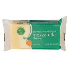 Low-Moisture Part-Skim Mozzarella Cheese