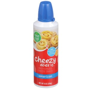 Cheezy Does It, Pasteurized Cheese Snack, American
