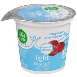 Raspberry - Light Nonfat Yogurt