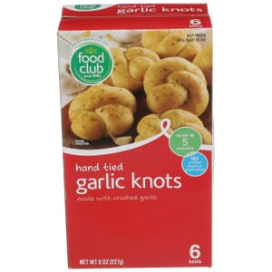Hand Tied Garlic Knots