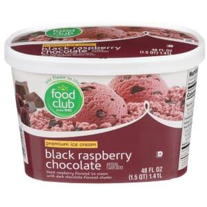 Black Raspberry Chocolate Premium Ice Cream
