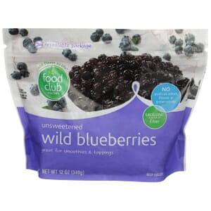 Wild Blueberries, Unsweetened