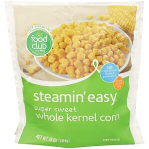 Steamin' Easy, Super Sweet Whole Kernel Corn