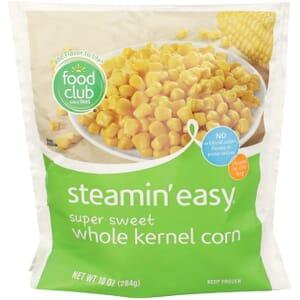 Steamin' Easy, Super Sweet Whole Kernel Corn