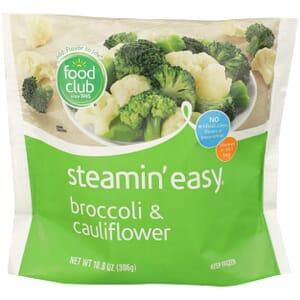 Steamin' Easy, Broccoli & Cauliflower