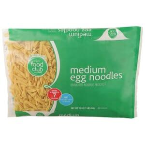 Medium Egg Noodles Pasta