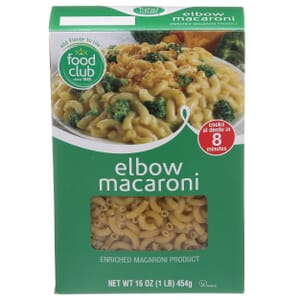 Elbow Macaroni Pasta