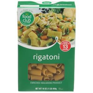 Rigatoni Pasta