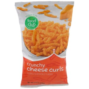 Cheese Curls, Crunchy