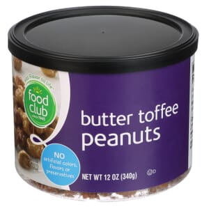 Peanuts, Butter Toffee