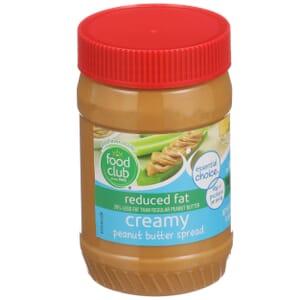Creamy Peanut Butter Spread - Reduced Fat