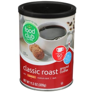 Ground Coffee - Classic Roast, Medium