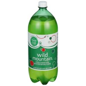 Wild Mountain, Citrus Flavored Soda