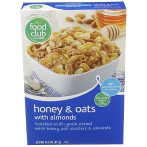 Honey & Oat With Almonds Cereal