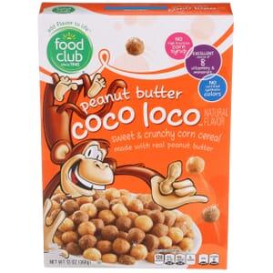 Peanut Butter Coco Loco Cereal