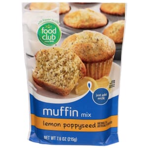 Lemon Poppyseed Muffin Mix