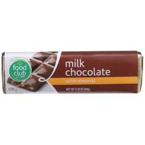 Milk Chocolate With Almonds