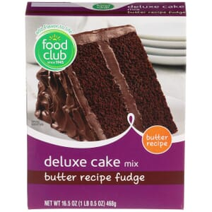 Butter Recipe Fudge Deluxe Cake Mix