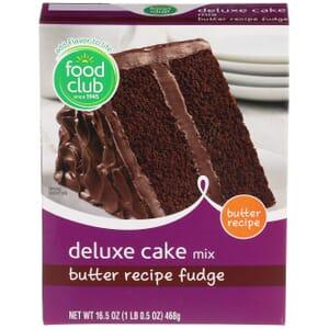 Butter Recipe Fudge Deluxe Cake Mix