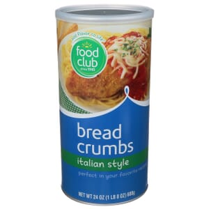 Bread Crumbs, Italian Style