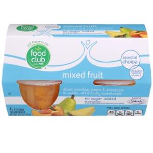 Mixed Fruit - No Sugar Added