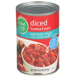 Diced Tomatoes, Mexican Style