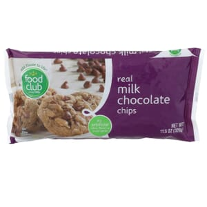 Real Milk Chocolate Chips