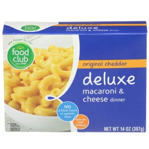 Original Cheddar Deluxe Macaroni & Cheese Dinner