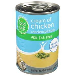 Cream Of Chicken Condensed Soup - 98% Fat Free