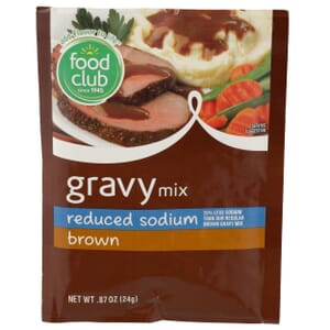 Brown Gravy Mix - Reduced Sodium