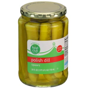 Polish Dill Spears Pickles