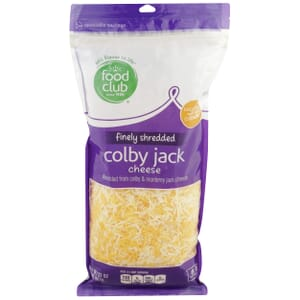 Finely Shredded Colby Jack Cheese
