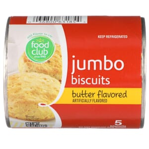 Jumbo Biscuits, Butter Flavored
