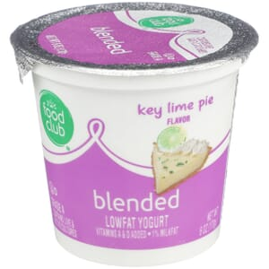 Key Lime Pie Flavor Lowfat Yogurt, Blended