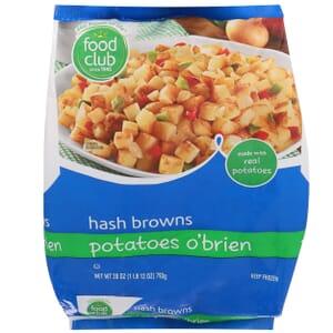 Hash Browns, Potatoes O'Brien
