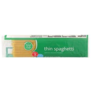 Thin Spaghetti Pasta