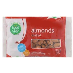 Almonds, Shelled