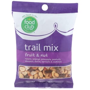 Trail Mix, Fruit & Nut