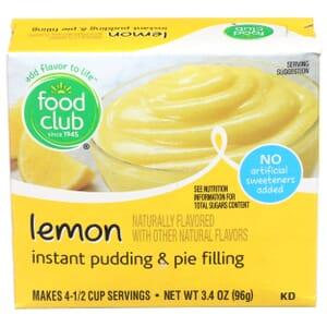 Lemon Instant Pudding & Pie Filling