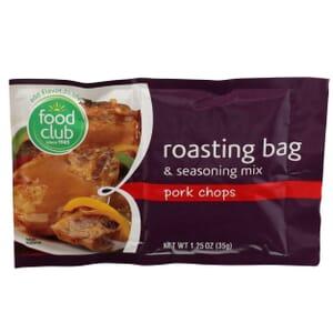 Roasting Bag & Seasoning Mix, Pork Chops