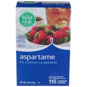 Aspartame No Calorie Sweetener